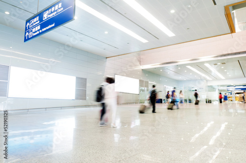 Foto op Aluminium Luchthaven passenger in the shanghai pudong airport