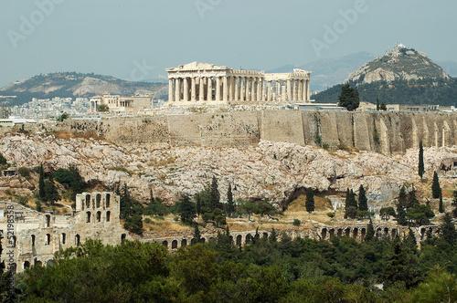 Printed kitchen splashbacks Athens Acrópolis Atenas
