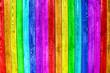 alte Bretter Regenbogen