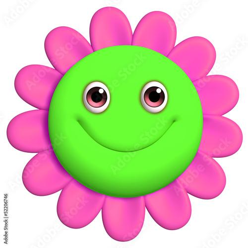 Garden Poster Sweet Monsters 3d cartoon cute flower