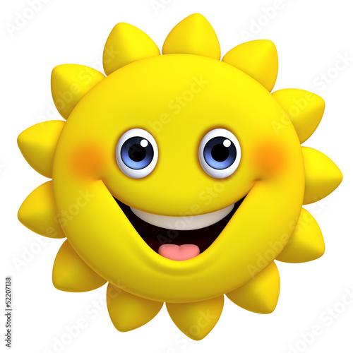 Garden Poster Sweet Monsters 3d cartoon cute sun