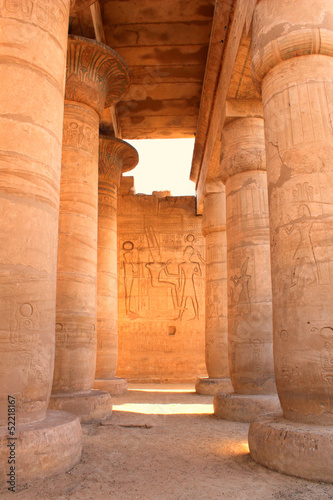 In de dag Egypte Ramesseum temple, Egypt