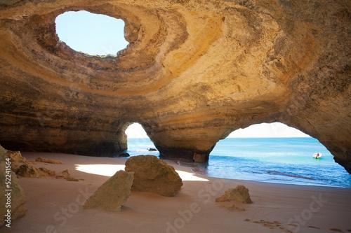 Fotografie, Obraz  Portugal - Algarve - Benagil - Sea-Caves