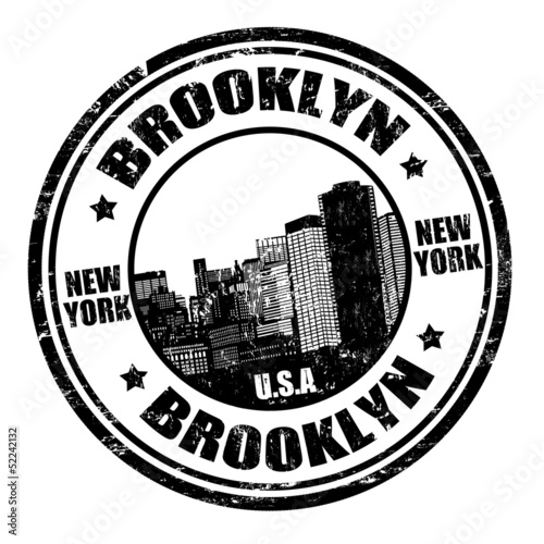 Brooklyn stamp