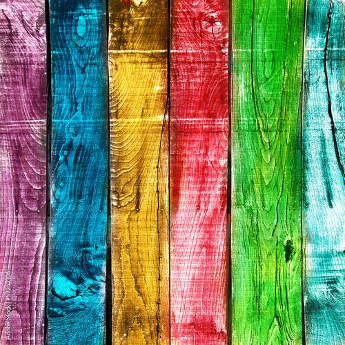 Naklejka na szybę legno vintage colorato