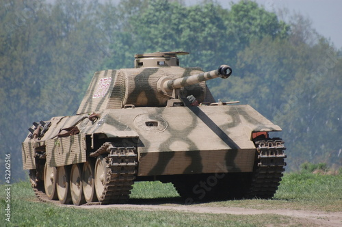Photo  German tank