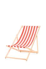 Sun Lounger In Stripes