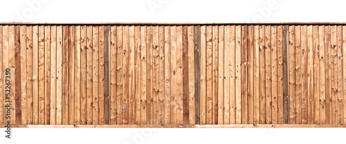 Wooden fence Poster Mural XXL