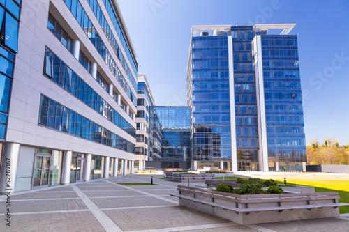 obraz PCV Nowoczesna architektura w Gdańsku