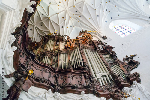 Great organ of Oliwa Archcathedral in Poland