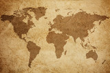 World map texture background