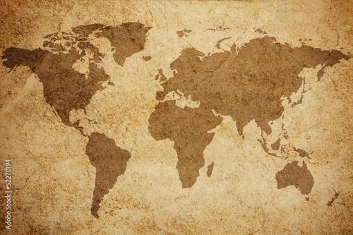 brazowa-mapa-swiata-w-stylu-vintage