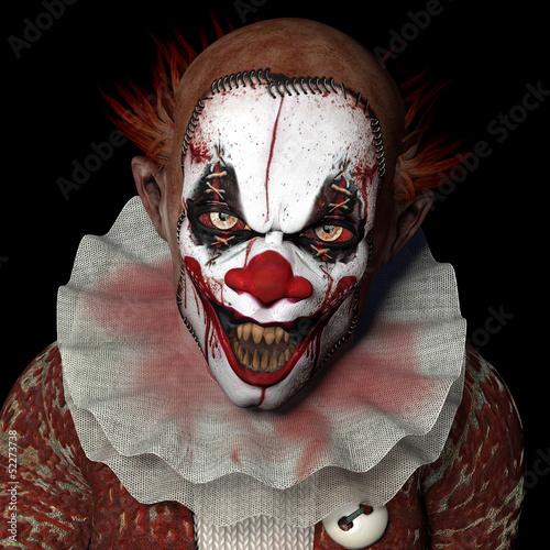 Scarier Clown 1 Fototapeta