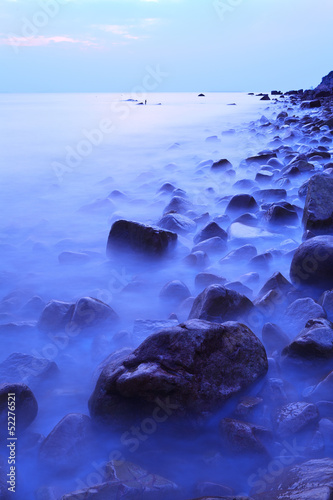 Fototapety, obrazy: Evening coastline