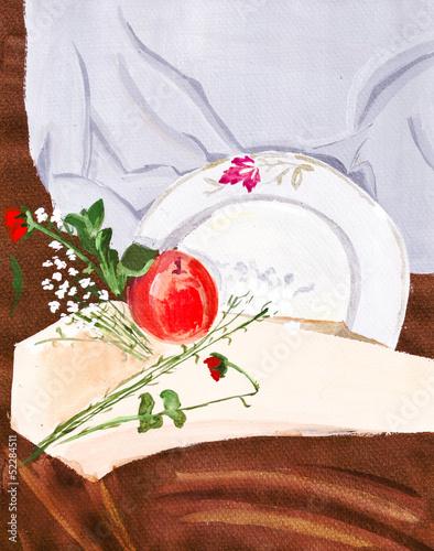 male-kwiaty-i-czerwone-owoce