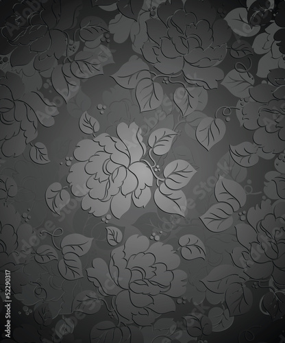 Royal seamless rose flower wallpaper