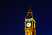 Big Ben And Clock Tower In The...