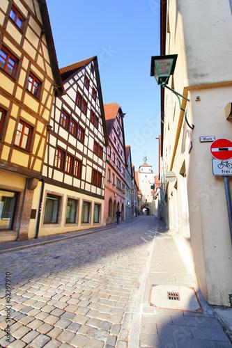 stara-ulica-w-rothenburgu