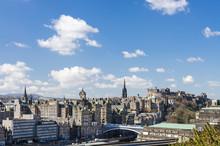 Skyline Of Edinburgh, Scotland
