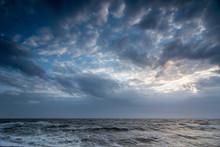 Cloudscape Above The Dutch Sea