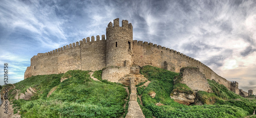 Photo Stands Fortification Medieval Akkerman fortress near Odessa in Ukraine