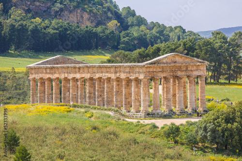 Fotografie, Obraz  Tempel von Segesta, Sizilien