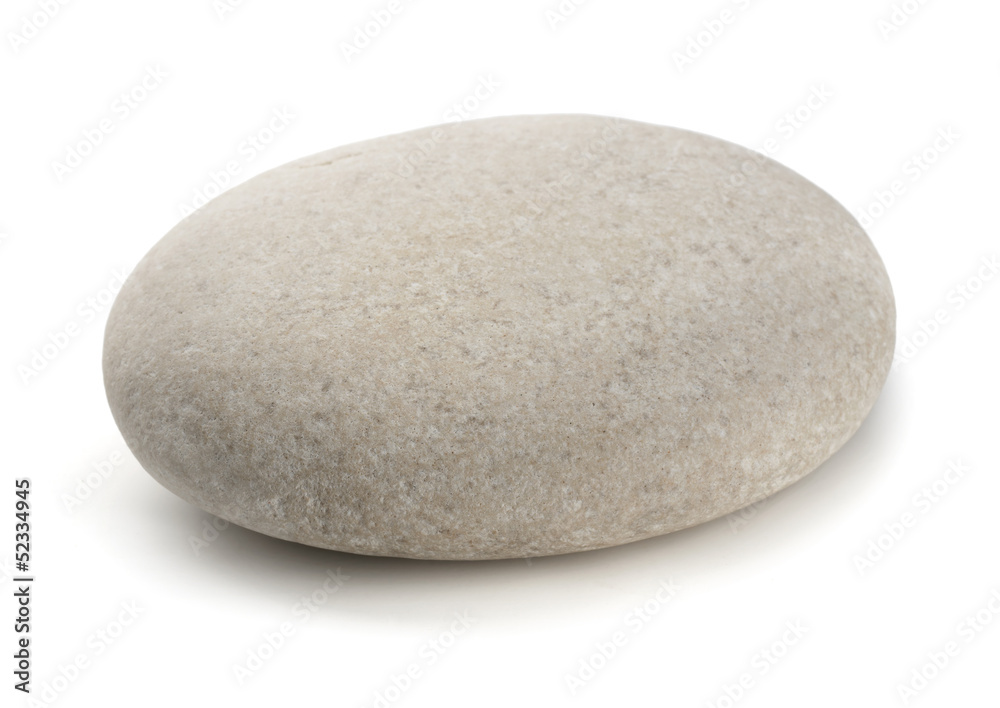 Fotografía  Single grey pebble