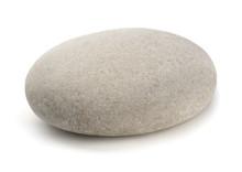 Single Grey Pebble