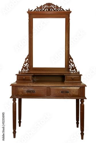 Fotografia, Obraz Antique Dressing Table