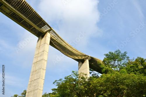 Wave Bridge, Mount Faber Park, Singapore - Buy this stock