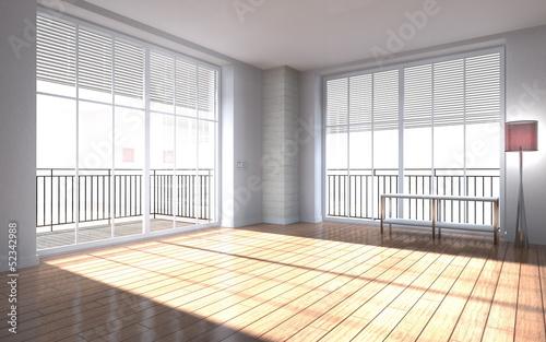 Fototapeta modern room interior obraz na płótnie