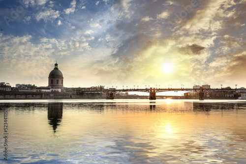 Toulouse Pont Saint-pierre Canvas Print