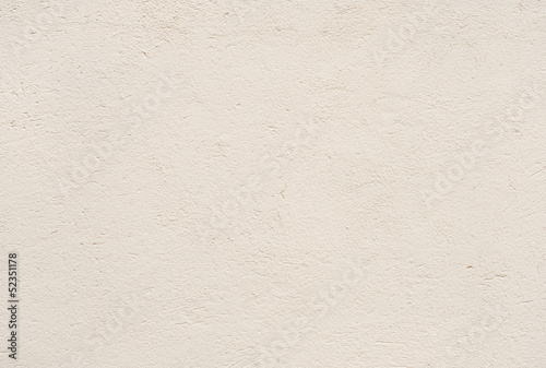 Fotografia  Beige plastered wall  texture background