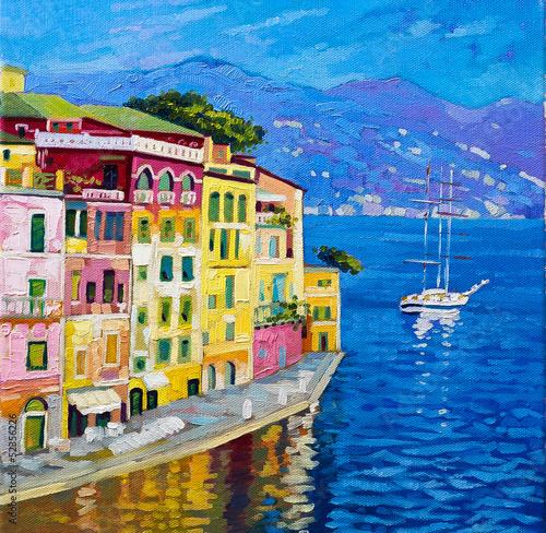 Beautiful view from Portofino. - 52356226