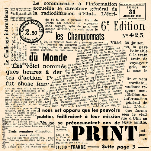 Poster Kranten Print