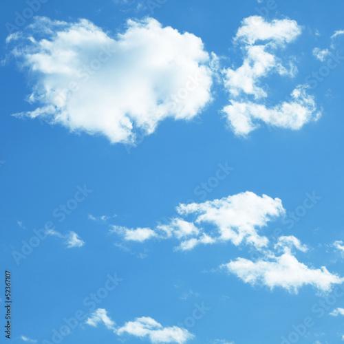Fotografering  Blauer Himmel