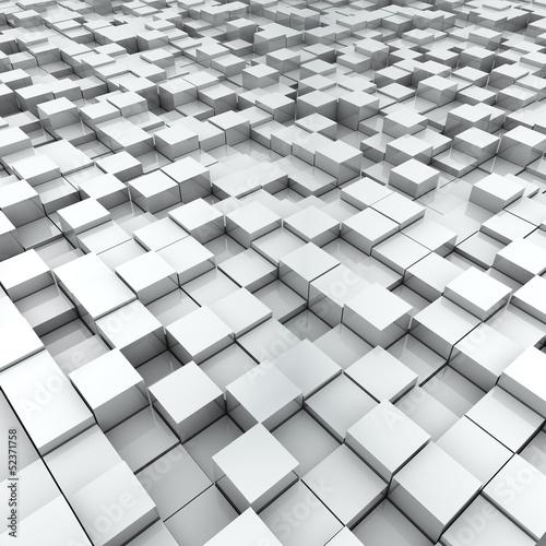 biale-tlo-powierzchni-podzielonego-poziomu-kostki
