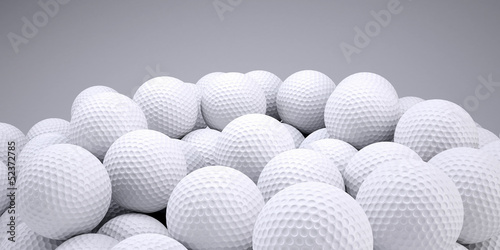 Valokuva  Background is out of golf balls