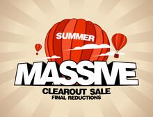 Massive Summer Sale Design Tem...