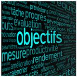 Nuage de Tags OBJECTIFS (projet équipe performance productivité)