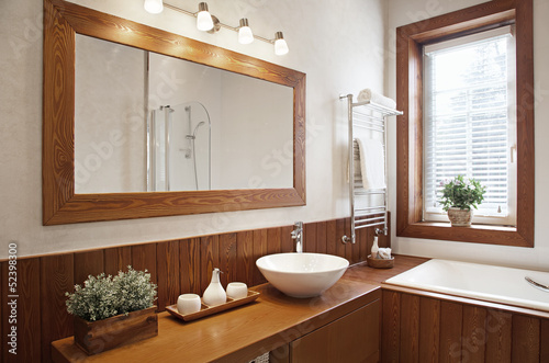Valokuva  Modern Residential Home Bathroom