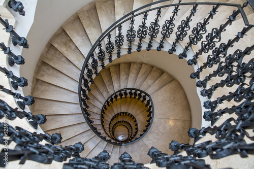 Photo Stands Spiral Wendeltreppe