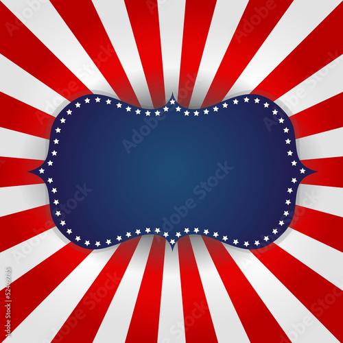 Photo  American flag Design
