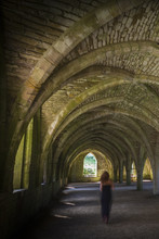 Fountains Abbey  Cellarium Ghost