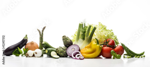 Tuinposter Verse groenten Vegetables