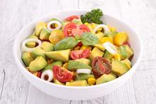 Avocado Salad And Tomato