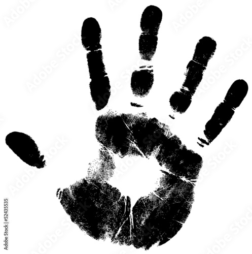 handprint Canvas-taulu