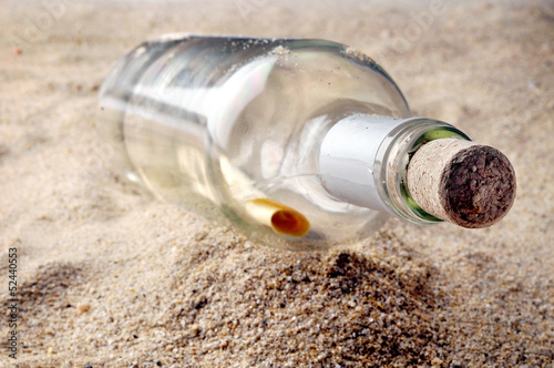 message in bottle from castaway
