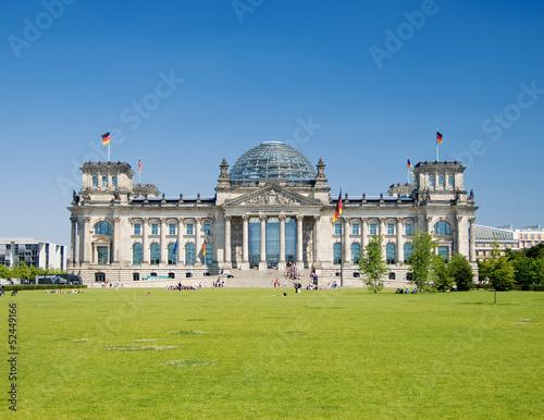Spoed Fotobehang Berlijn Reichstag Berlin