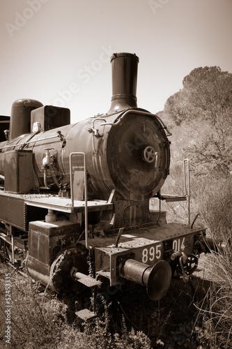 lokomotywa-starego-pociagu